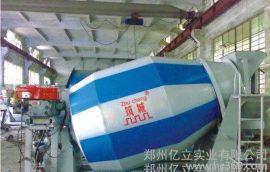 混凝土攪拌運輸車 億立實業 混凝土運輸罐車