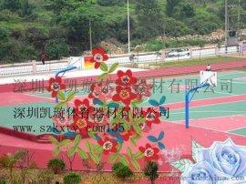 东莞硅PU球场施工塑胶跑道制造  丙稀酸篮球场