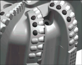 锥形金刚石复合齿