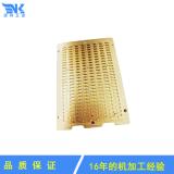 诺科五金加工精密黄铜板治具 CNC加工