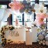 昆明花語花香氣球告白氣球婚房布置