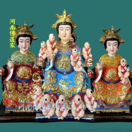 女娲娘娘神像 彩绘女娲娘娘像 树脂女娲娘娘佛像