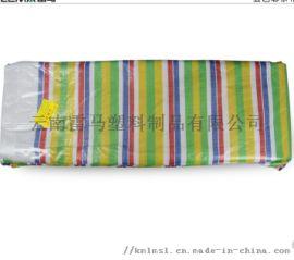 三洋牌五色彩条布 防雨防水遮阳布