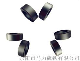 永磁铁氧体磁环定做加工 耐高温磁铁