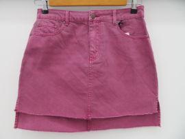 畅销外贸原单女士纯色牛仔半身裙,包臀裙