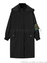服装店的货源【现货】金凯恩女士中款风衣