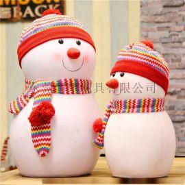 聖誕樹毛絨玩具大號雪人娃娃公仔裝飾品