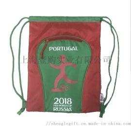 涤纶束口背包袋定做环保防水尼龙袋广告宣传拉绳涤纶袋