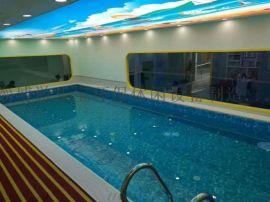 晋中介休游乐宝大型室内装配式钢结构游泳池