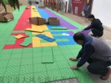 南寧幼兒園戶外懸浮地板 南寧幼兒園室外地膠