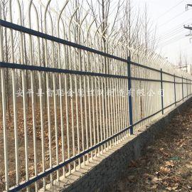 城区锌钢隔离栏,**围墙防护栏,坚固围墙护栏生产