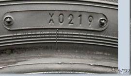 普利司通轮胎号烫字机 小汽车轮胎日期烫号机