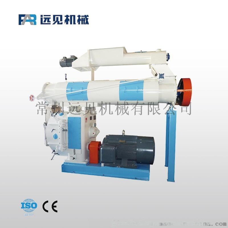 供應豬飼料廠機械設備 飼料顆粒機 508環模飼料機