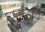 廠家定做鋼化玻璃商場高檔珠寶展示櫃 首飾展櫃設計