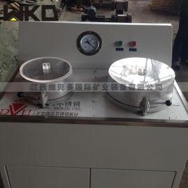 盘式真空过滤机厂家直销 固液分离双盘真空过滤机