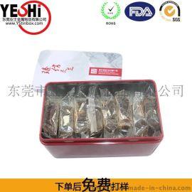 东莞塘厦制造马口铁蛋卷包装铁罐铁盒YS77698