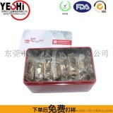 東莞塘廈製造馬口鐵蛋捲包裝鐵罐鐵盒YS77698