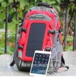 厂家直销太阳能旅行运动背包 太阳能休闲多功能背包太阳能背包