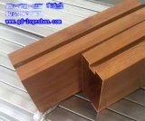 广安凸槽铝方通 木纹铝方管 100x80方通铝型材