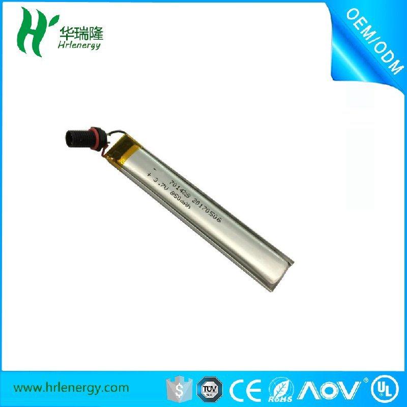 701488-850mah电池  聚合物锂电池厂家