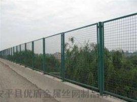 高速公路防抛网 桥梁防抛网 绿色防落物网围栏