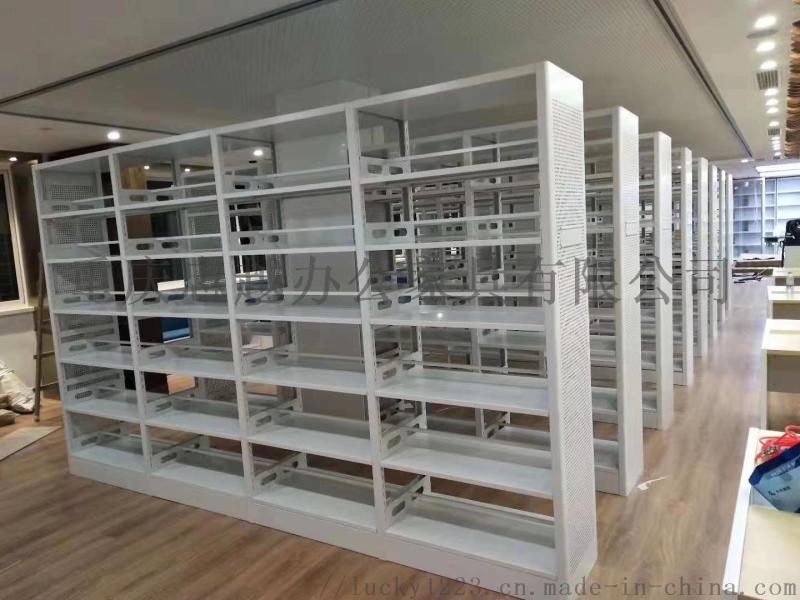 重庆书架 学生简易书架 钢制书架 图书架 厂家直销