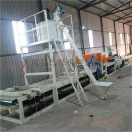 岩棉砂浆复合板生产设备、自动砂浆抹面