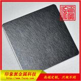 亮光黑钛不锈钢板 杭州不锈钢乱纹黑钛板材