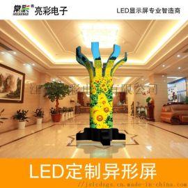 室内外全彩LED异形显示屏(球形、魔方、圆柱等)
