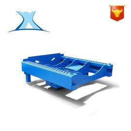 零件物流配送遥控智能电动砖厂拖车 牵引平板车加工厂定制