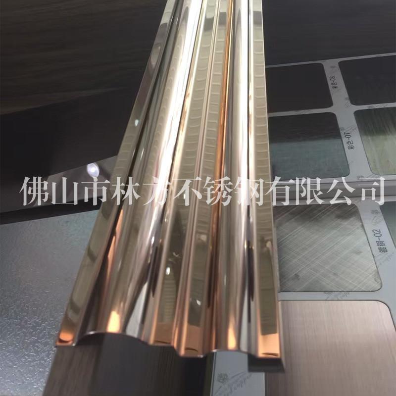 惠州镜面不锈钢U槽加工 异型不锈钢工件 装饰线条加工厂家 质量好交期快