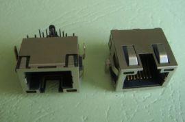 RJ45沉板式连接器(6221-S-Q-L-8P8C)
