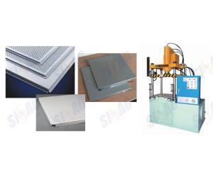 THJ铝扣天花板专用机油压机、液压机、水胀机