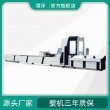 金属圆管方管矩管激光切割机高速管材光纤激光切割机