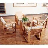 美時美器 竹傢俱創意家居休閒椅  簡約中式單人沙髮套組1802