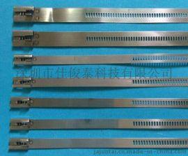 格式自锁扎带  不锈钢格式自锁扎带 格式涂层自锁不锈钢扎带