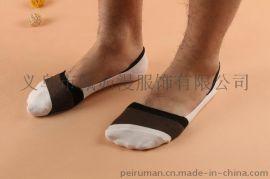 春夏新品 竹纤维纯色硅胶防滑男士隐形船袜 浅口男袜子批发爆款袜
