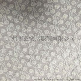 缘缘牌全棉网布刺绣花边 WT105