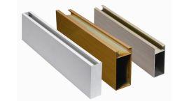 铝合金型材方通 木纹U型铝方通