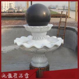 石雕水转球 石雕风水球 风水球喷泉 现货直销