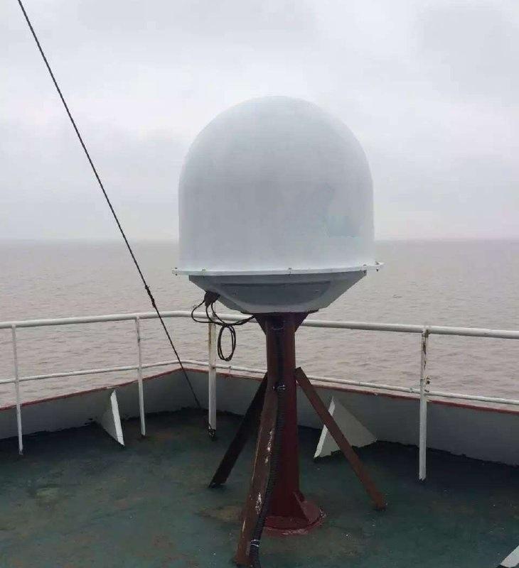 船載衛星寬頻天線V90,跟蹤穩定,網速快,四軸跟蹤