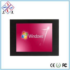 厂家直销8.4寸Win7XP,工业平板电脑触摸触控工控一体机防水防尘
