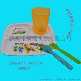 深圳厂家直销儿童餐盘食品级PP注塑微波加热餐盘 颜色LOGO可定制