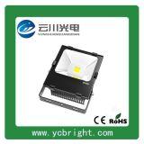 雲川新款黑色矩形50WLED投光燈戶外防水投射燈