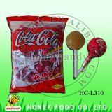 10克可樂味棒棒糖,可樂棒棒糖,袋裝棒棒糖