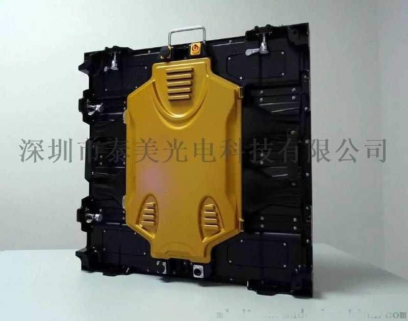泰美P2.5室内全彩led显示屏高清压铸箱体led租赁屏