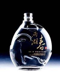 成都水晶料玻璃酒瓶专业制作