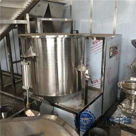 不锈钢小型立式实验室高速混合机粉液**高速湿法混合制粒机定做