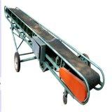 6米伸缩式皮带输送机食品输送流水线无动力滚筒输送机