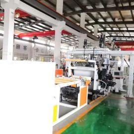 PS高阻隔吸塑片机组 金韦尔机械 HIPS多层共挤板机组